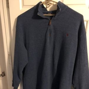 Polo 1/4 Zip Sweater